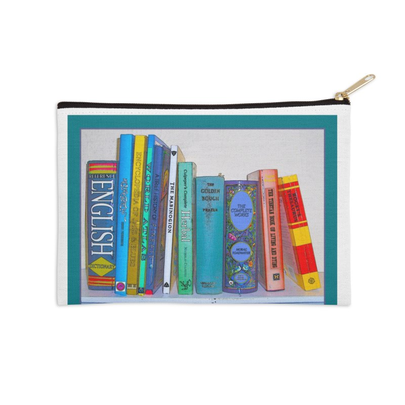I LIKE BIG BOOKS... Accessories Zip Pouch by Felix Culpa Designs