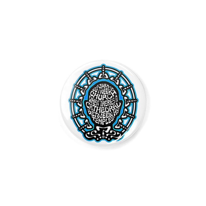 Free Thinker Accessories Button by Felix Culpa Designs