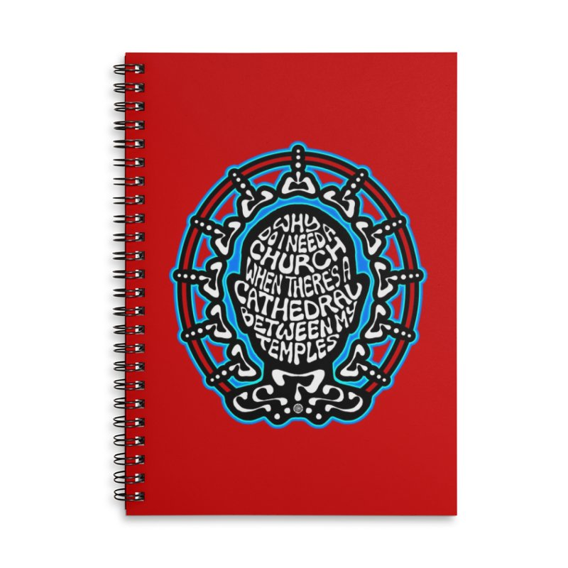 FREETHINKER Accessories Lined Spiral Notebook by Felix Culpa Designs