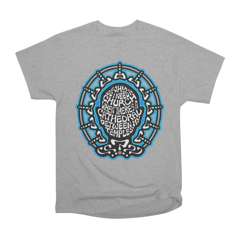 FREETHINKER Men's Heavyweight T-Shirt by Felix Culpa Designs
