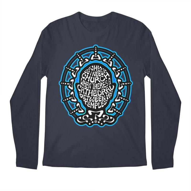 FREETHINKER Men's Regular Longsleeve T-Shirt by Felix Culpa Designs