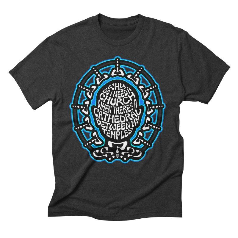 FREETHINKER Men's Triblend T-Shirt by Felix Culpa Designs
