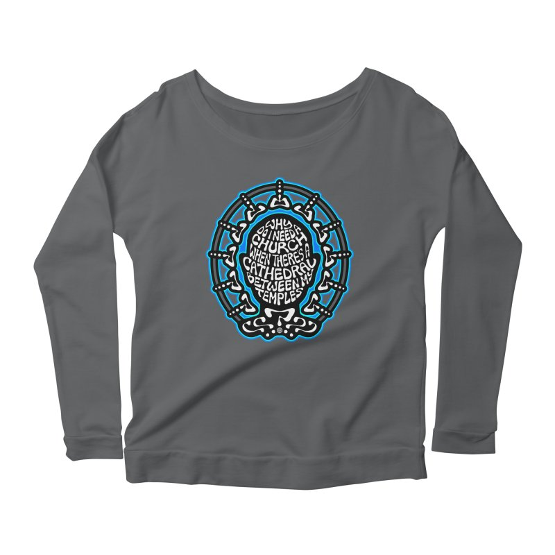 FREETHINKER Women's Scoop Neck Longsleeve T-Shirt by Felix Culpa Designs