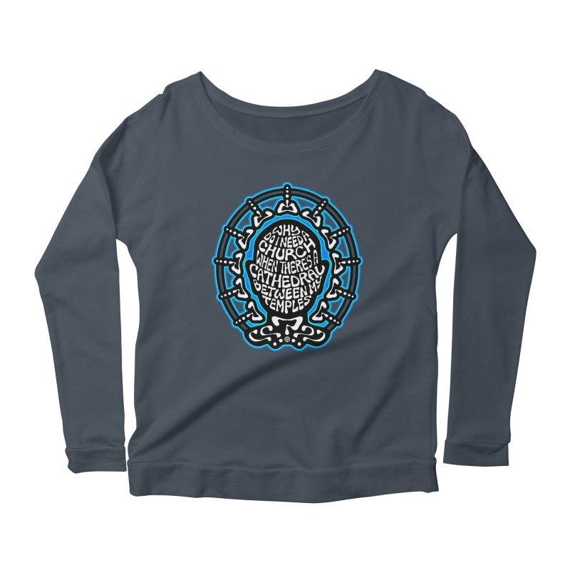 FREETHINKER Women's Scoop Neck Longsleeve T-Shirt by Felix Culpa Designs