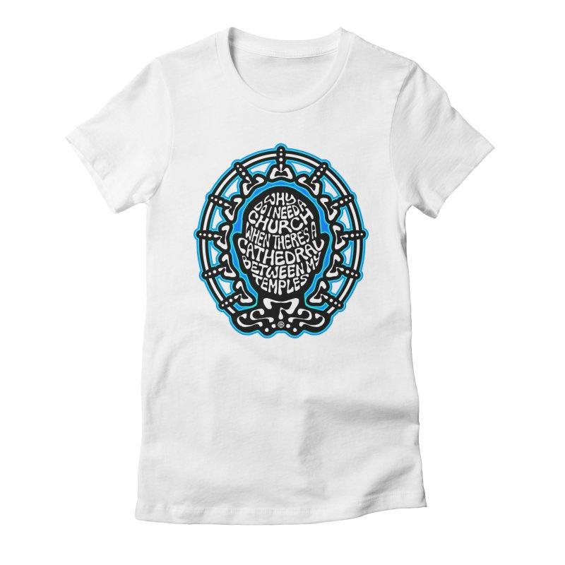FREETHINKER Women's Fitted T-Shirt by Felix Culpa Designs