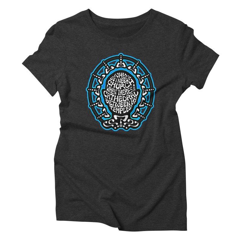 FREETHINKER Women's Triblend T-Shirt by Felix Culpa Designs