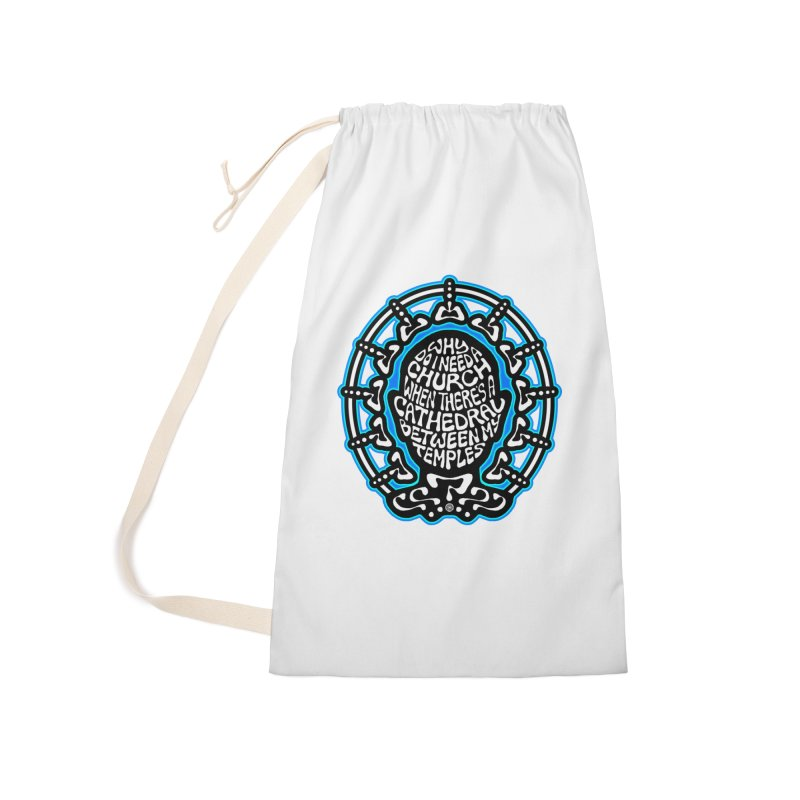 Free Thinker Accessories Laundry Bag Bag by Felix Culpa Designs