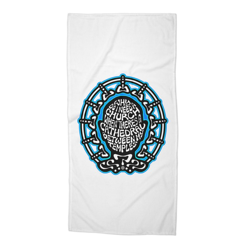 Free Thinker Accessories Beach Towel by Felix Culpa Designs