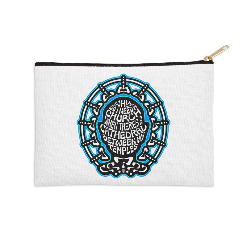 FREETHINKER Accessories Zip Pouch by Felix Culpa Designs