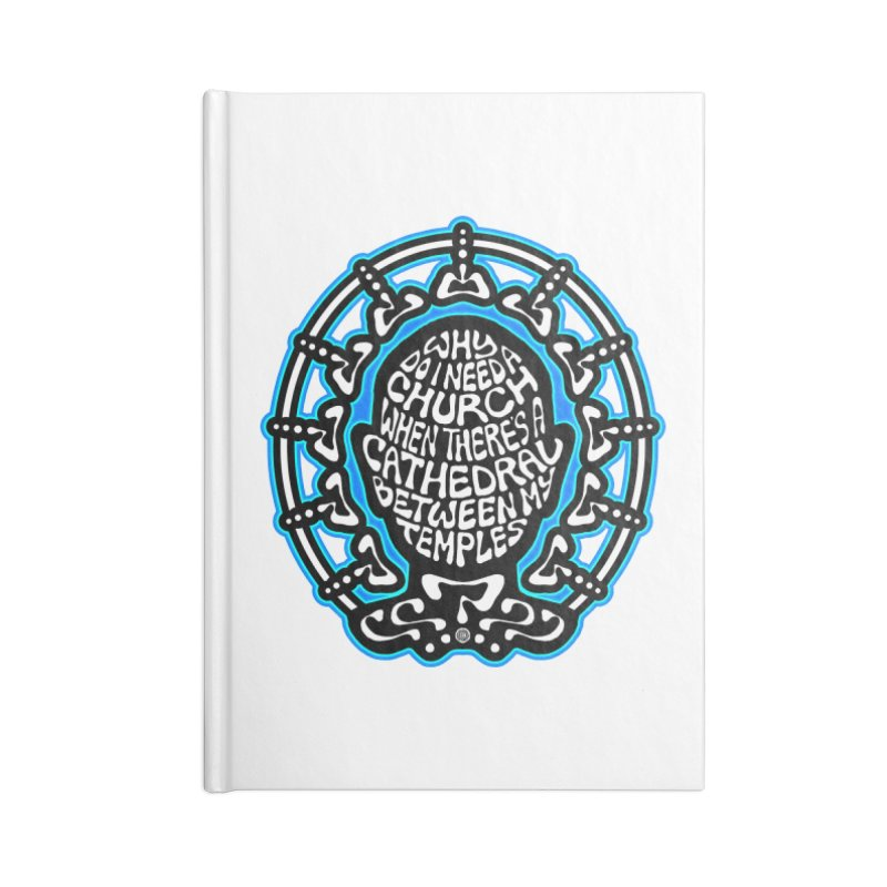 Free Thinker Accessories Blank Journal Notebook by Felix Culpa Designs