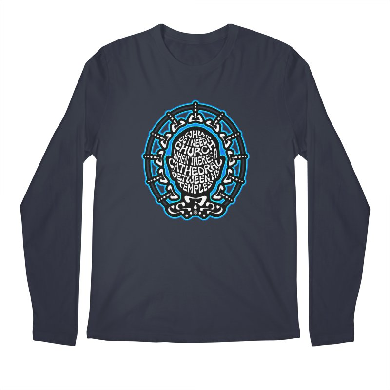 Free Thinker Men's Regular Longsleeve T-Shirt by Felix Culpa Designs