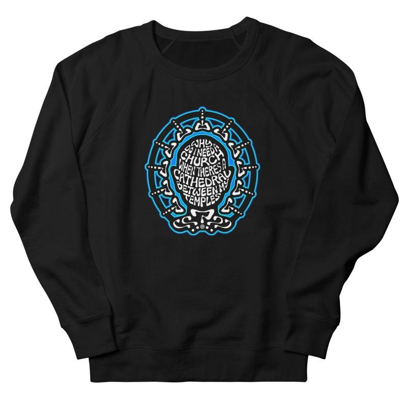 Free Thinker Men's French Terry Sweatshirt by Felix Culpa Designs