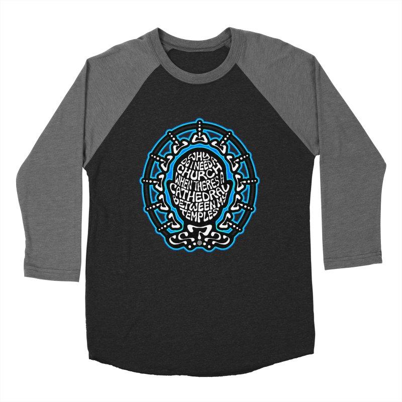 Free Thinker Women's Baseball Triblend Longsleeve T-Shirt by Felix Culpa Designs