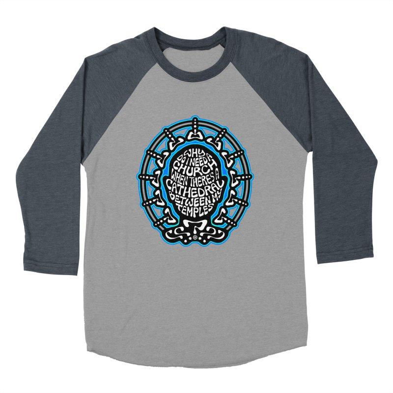 Free Thinker Men's Baseball Triblend Longsleeve T-Shirt by Felix Culpa Designs