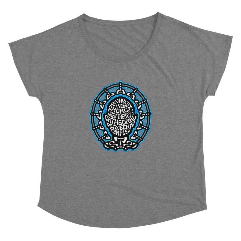 Free Thinker Women's Dolman Scoop Neck by Felix Culpa Designs