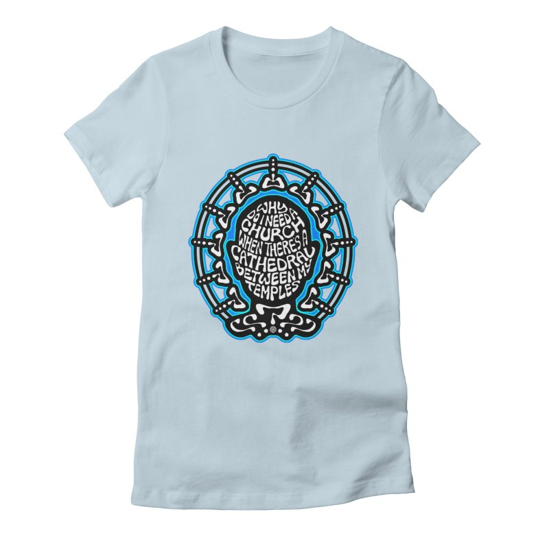 Free Thinker Women's Fitted T-Shirt by Felix Culpa Designs