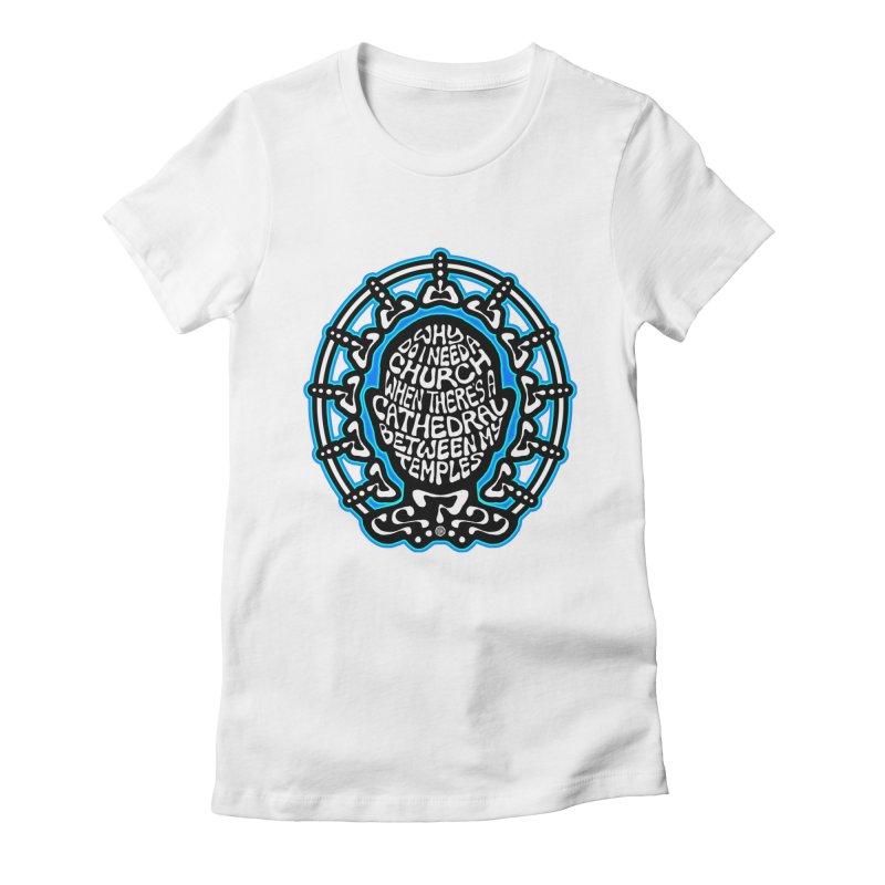 Free Thinker Women's Fitted T-Shirt by Felix Culpa Designs