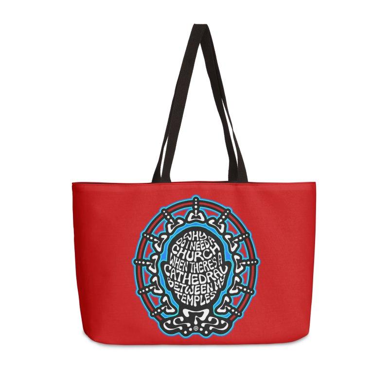 Free Thinker Accessories Weekender Bag Bag by Felix Culpa Designs