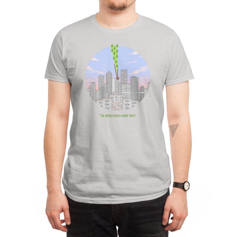 The world needs more trees Men's T-Shirt by felixpimenta's Artist Shop