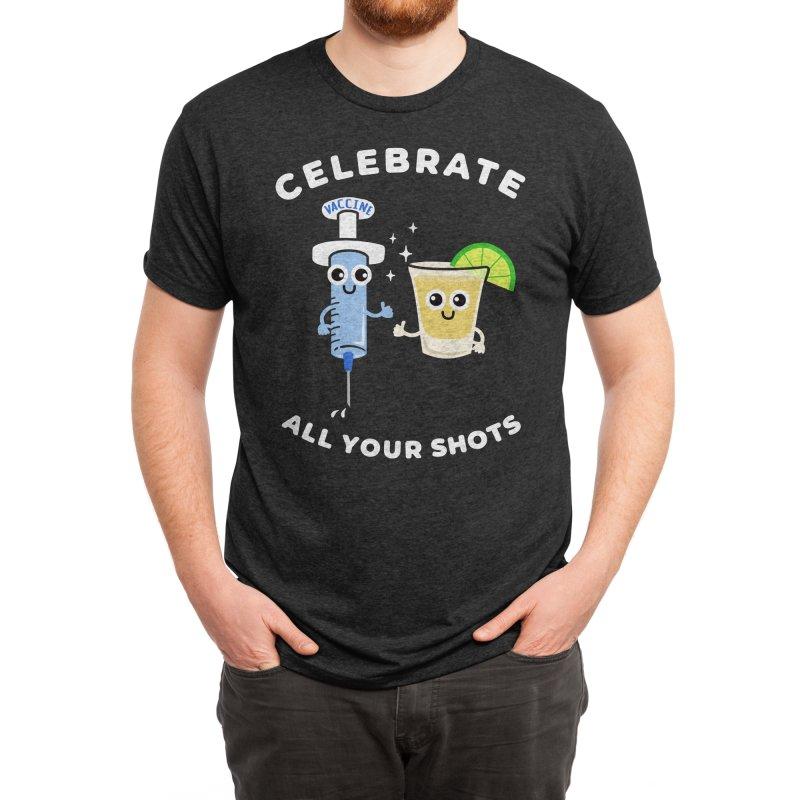 Celebrate All Your Shots Men's T-Shirt by Felixpimenta's Artist Shop