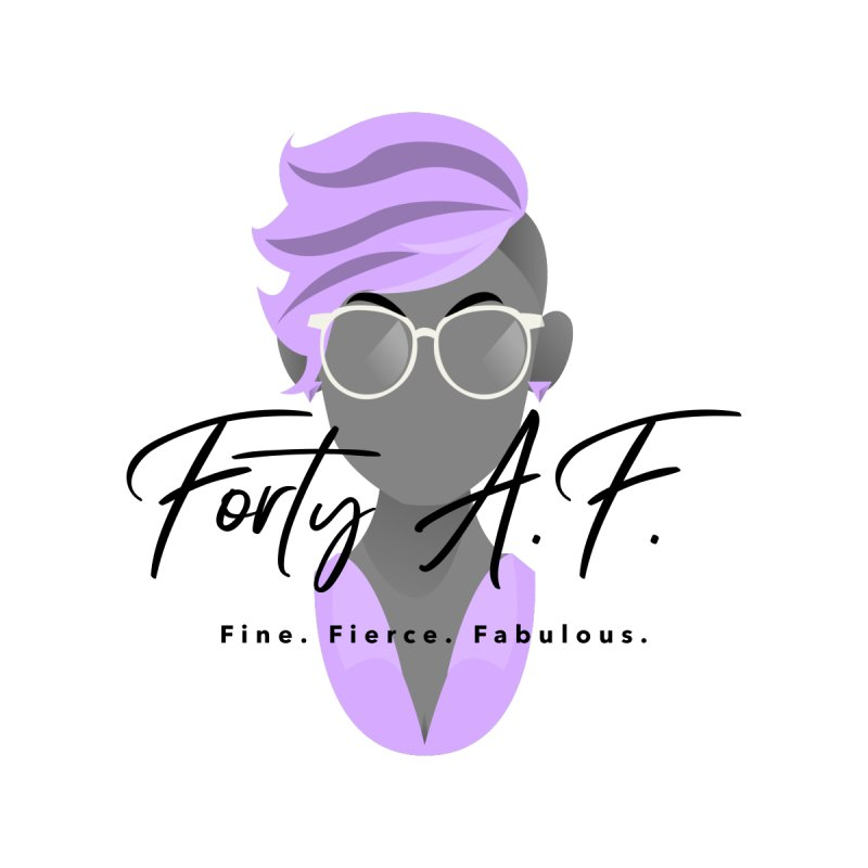 "Forty A.F. ""Lovely Lilac"" by femmejoliecolumbus's Artist Shop"