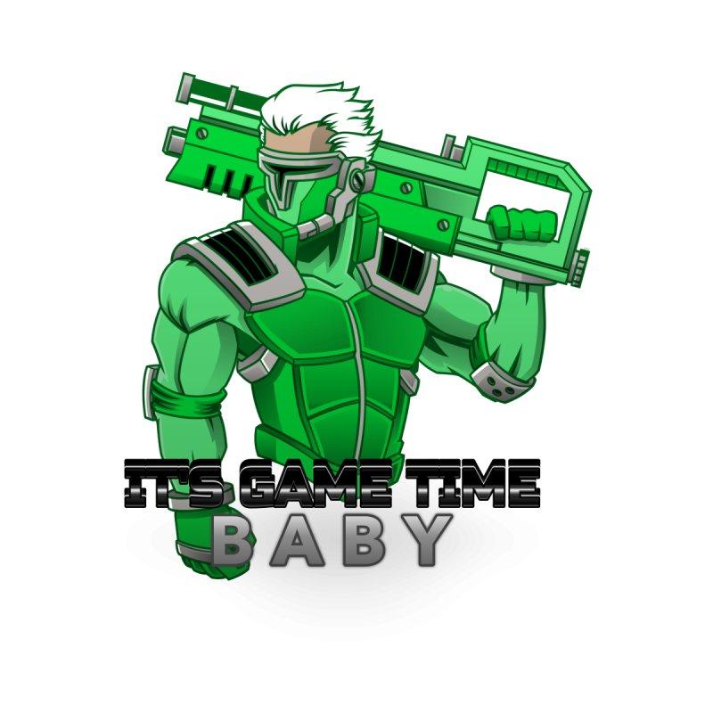 It's Game Time Kids T-Shirt by femmejoliecolumbus's Artist Shop