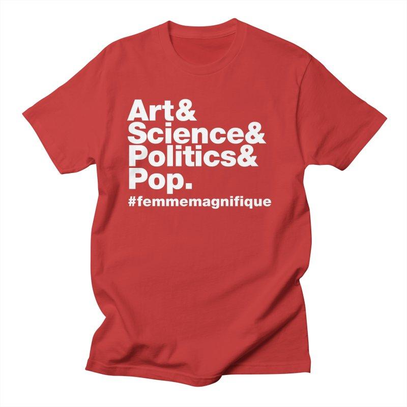 Politique  Men's T-shirt by Femme Magnifique