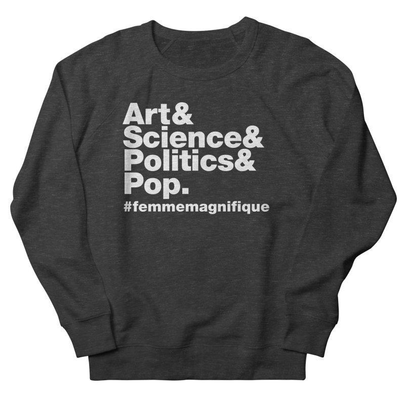 Politique  Men's Sweatshirt by Femme Magnifique