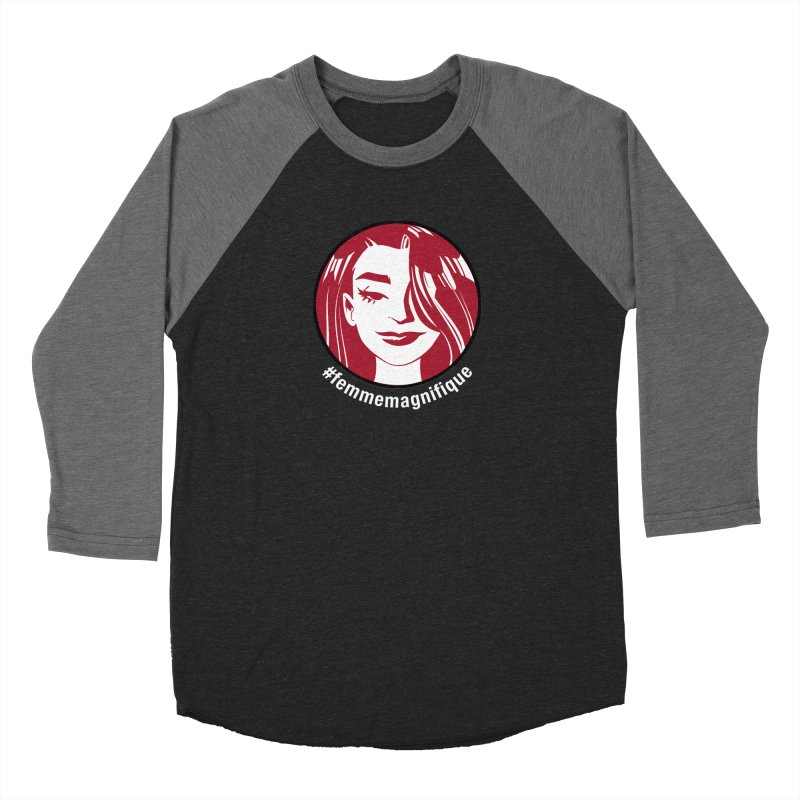 Hidden Agenda - KS Exclusive Men's Baseball Triblend T-Shirt by Femme Magnifique