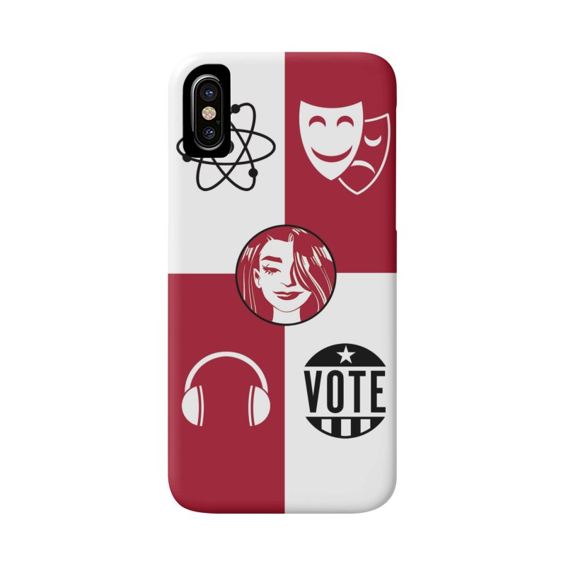 Chequers Accessories Phone Case by Femme Magnifique