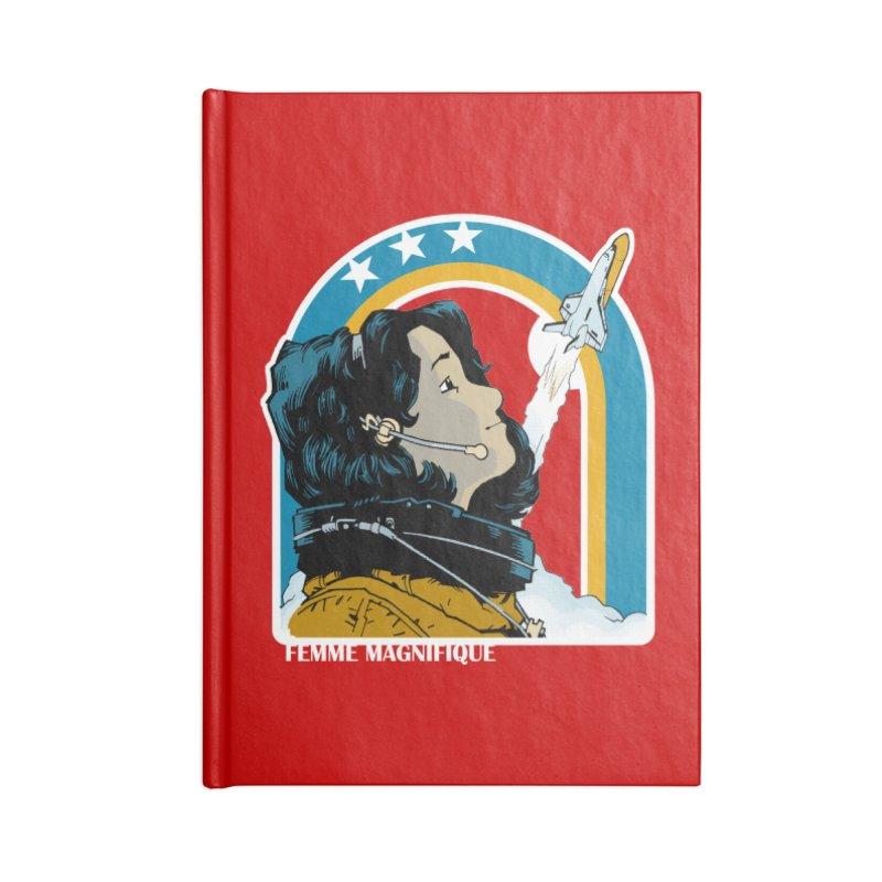 Astronaut Magnifique Accessories Notebook by Femme Magnifique