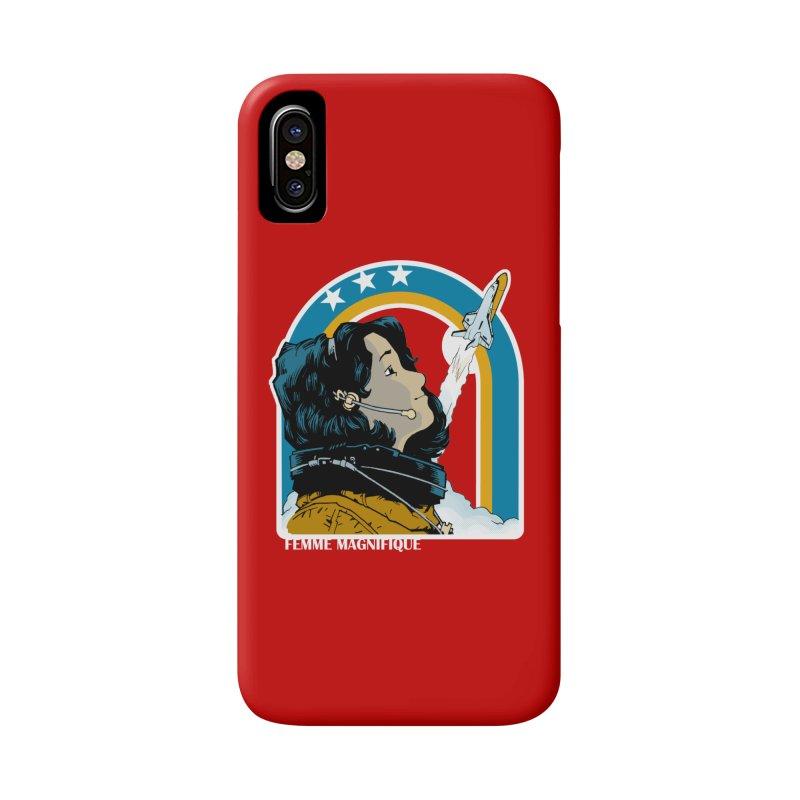 Astronaut Magnifique Accessories Phone Case by Femme Magnifique