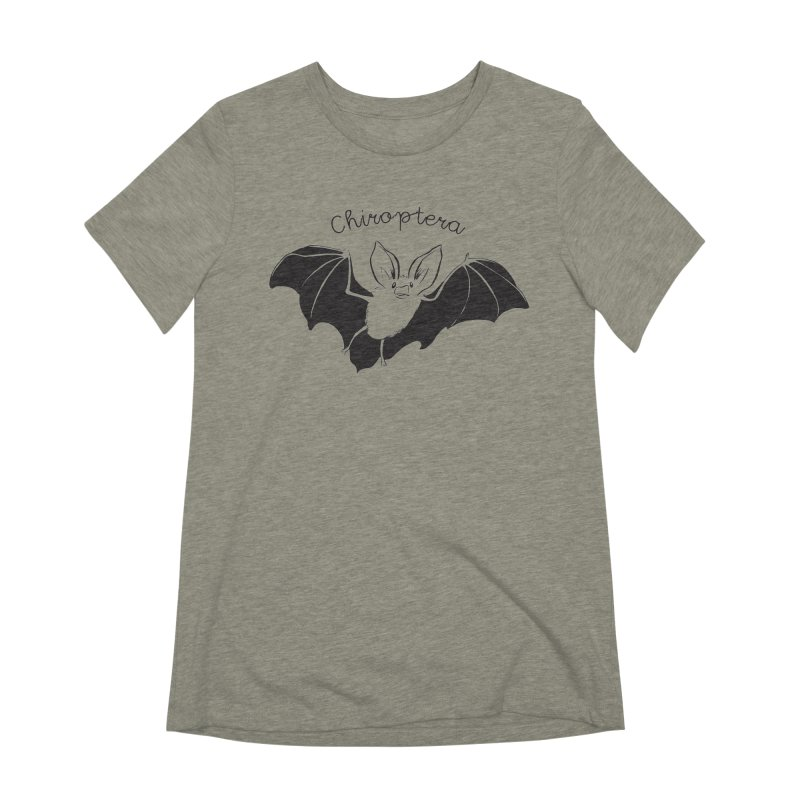 Chiroptera Women's Extra Soft T-Shirt by Feral Pony