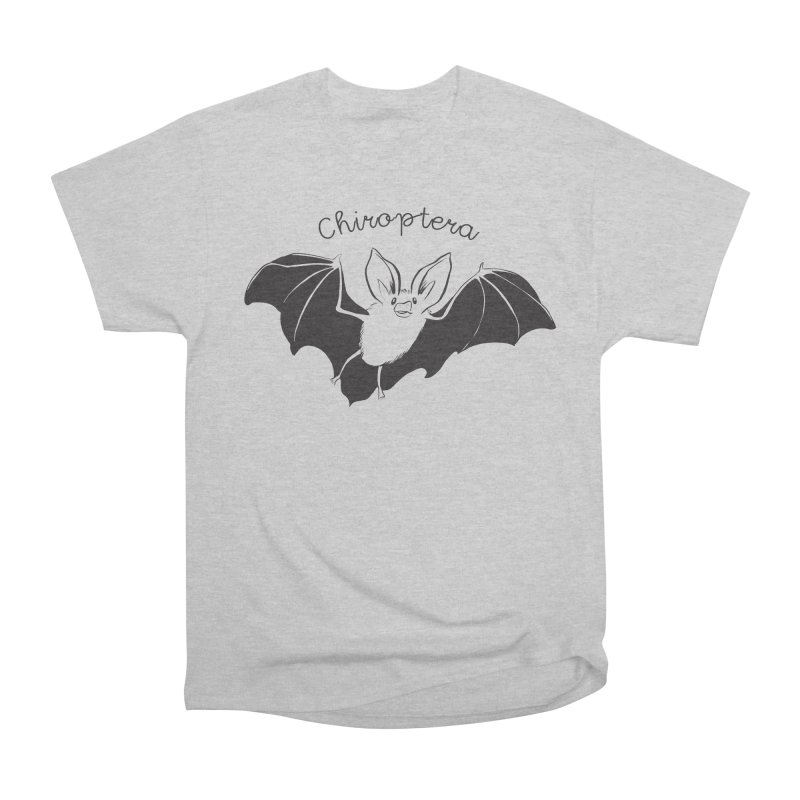 Chiroptera Men's Heavyweight T-Shirt by Feral Pony