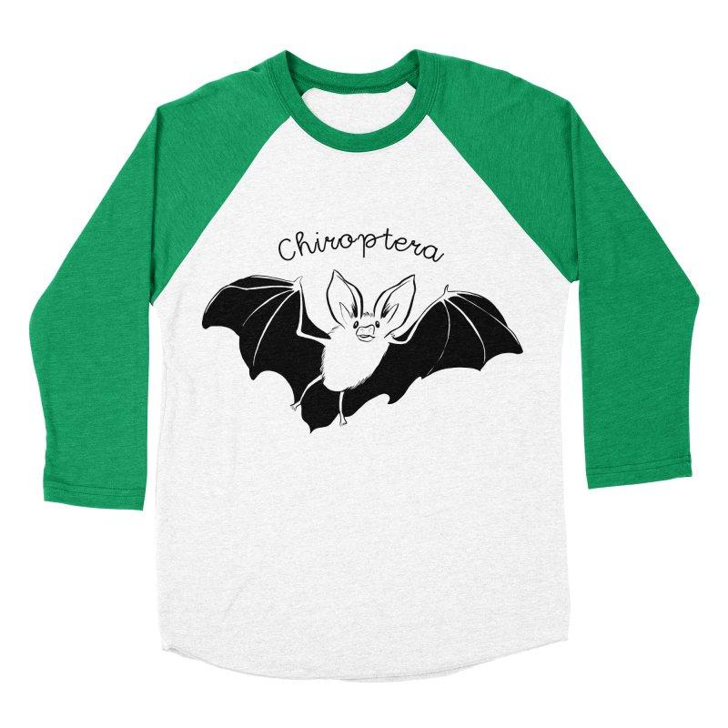 Chiroptera Women's Baseball Triblend Longsleeve T-Shirt by feralpony's Artist Shop