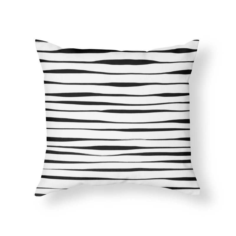 Switch Stripes Home Throw Pillow by feralpony's Artist Shop