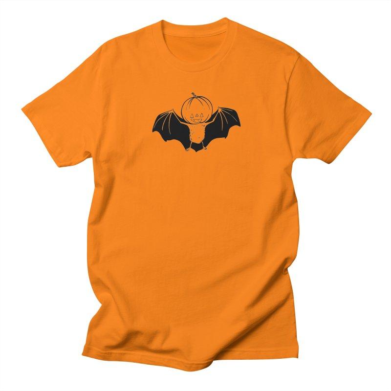Solo Pumpkinhead Men's Regular T-Shirt by Feral Pony
