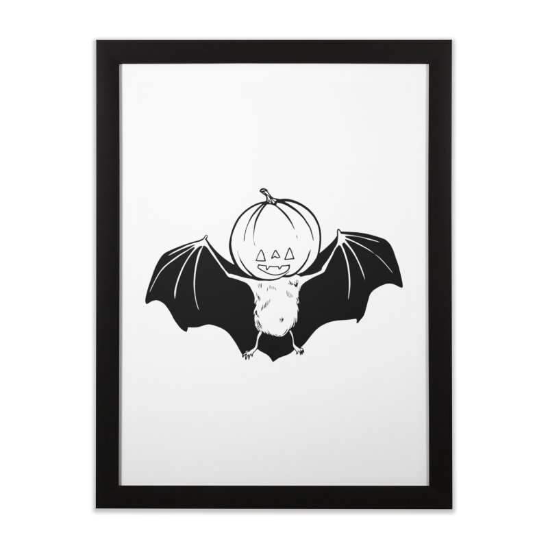 Solo Pumpkinhead Home Framed Fine Art Print by Feral Pony