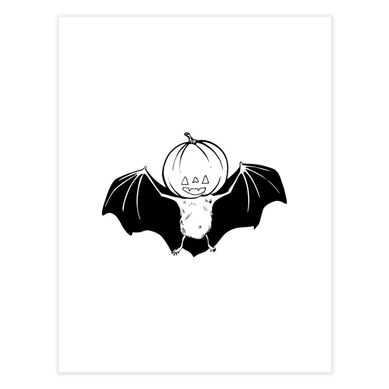 Solo Pumpkinhead Home Fine Art Print by feralpony's Artist Shop