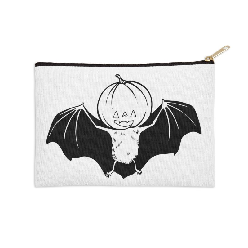 Solo Pumpkinhead Accessories Zip Pouch by Feral Pony