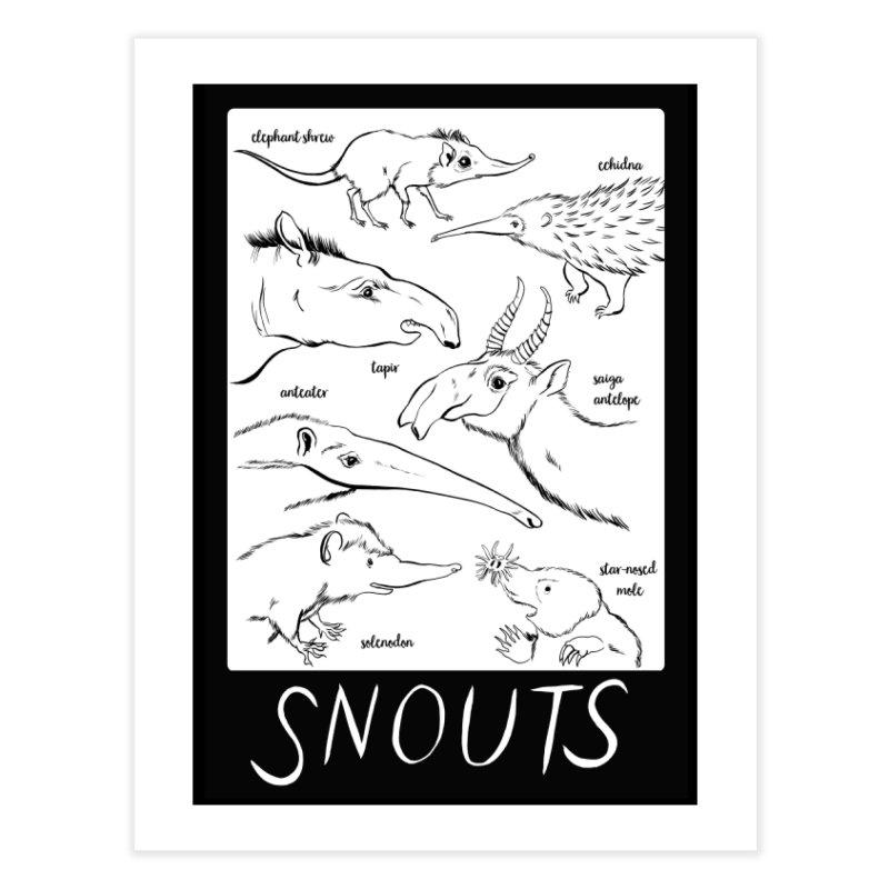 Extreme Snouts Home Fine Art Print by feralpony's Artist Shop