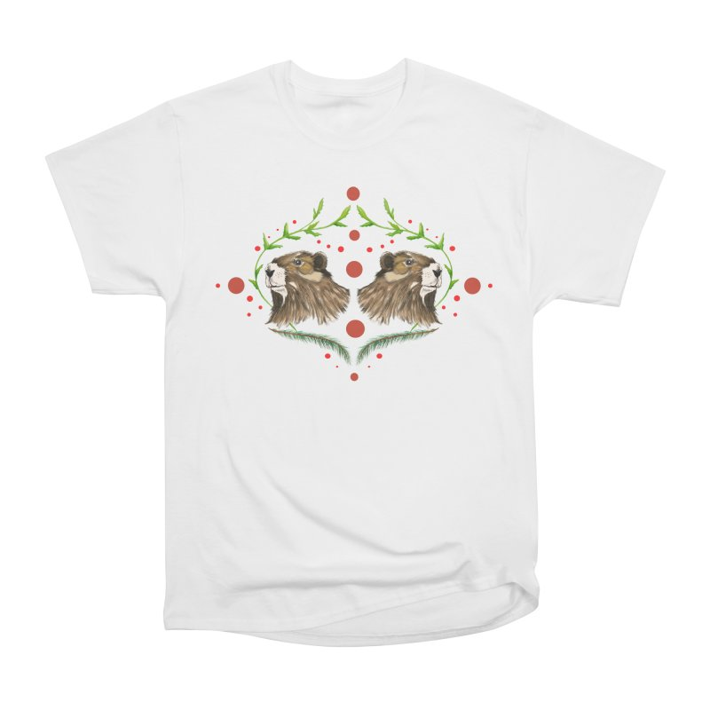 Canada's Endangered Marmots Women's Heavyweight Unisex T-Shirt by Feral Pony