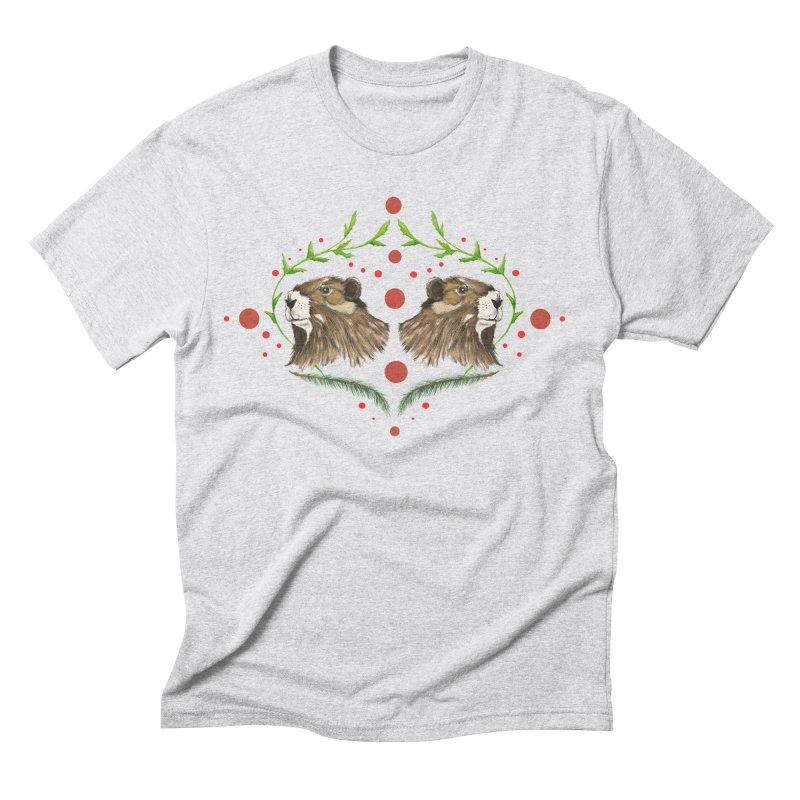 Canada's Endangered Marmots Men's Triblend T-shirt by feralpony's Artist Shop