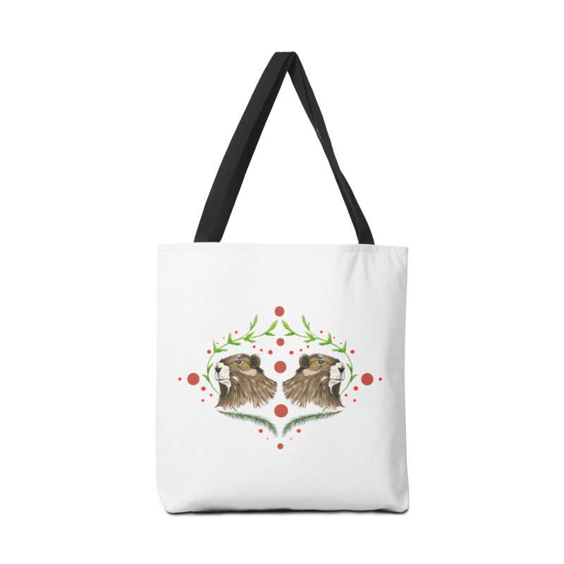 Canada's Endangered Marmots Accessories Bag by feralpony's Artist Shop