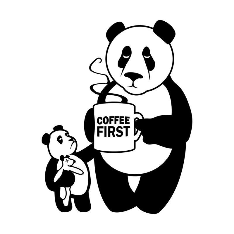 Coffee First by ferg's Artist Shop