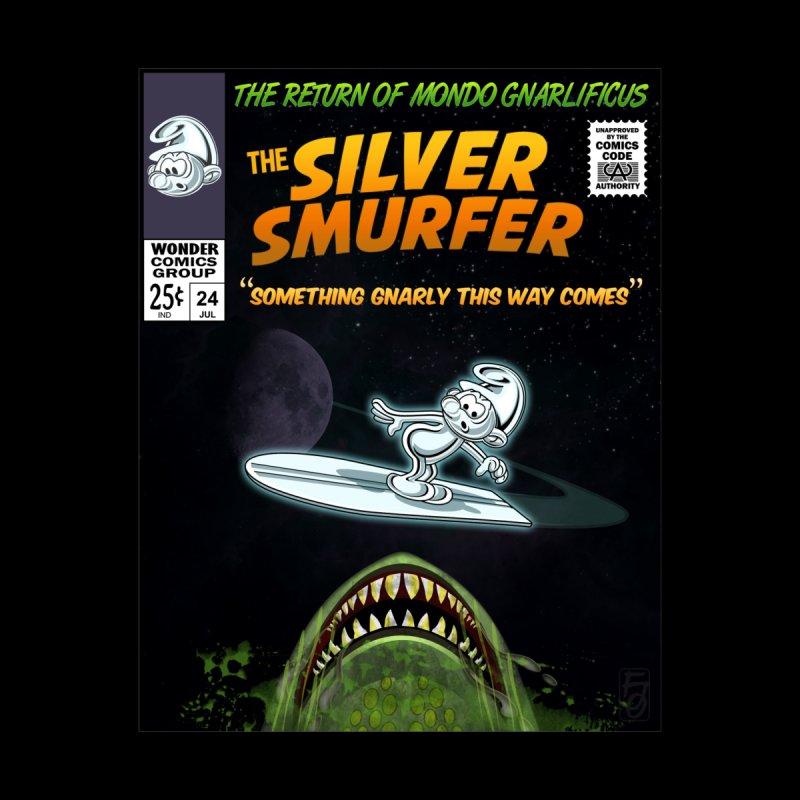 Silver Smurfer by ferg's Artist Shop