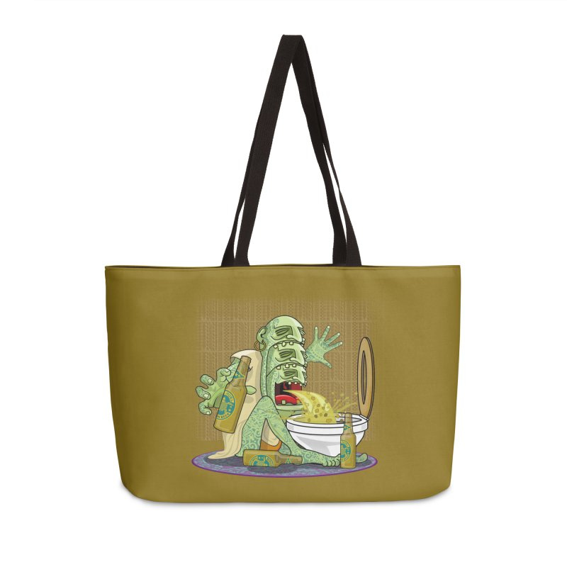 Samoan Sling Accessories Weekender Bag Bag by ferg's Artist Shop