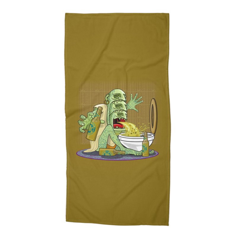 Samoan Sling Accessories Beach Towel by ferg's Artist Shop