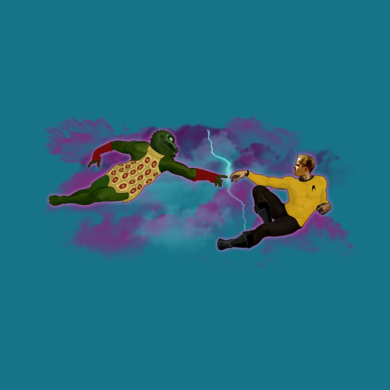 Kirk and Gorn by ferg's Artist Shop