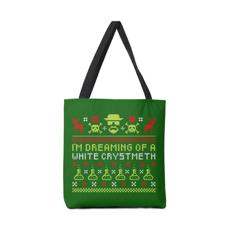 Happy Crystmeth Accessories Bag by ferg's Artist Shop